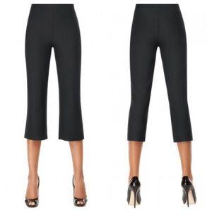 SPANX Bod-a-Bing! Slimming Crop Pants Black